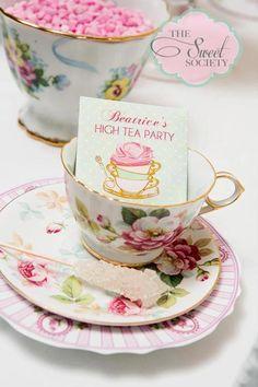 happy birthday high tea - Sugar Sticks, Afternoon Tea Parties, My Cup Of Tea, Macaron, Tea Recipes, Vintage Tea, High Tea, Party Planning, Tea Time