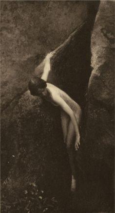 Anne Brigman (1869-1950, American), Untitled, Photogravure, 12.7 x 24.1 cm.