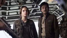Jyn Erso and Cassian Andor Rogue One Wallpaper