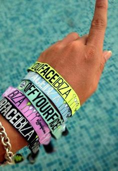 Ibiza festival wristbands = your tickets to unforgettable club and festival experiences | #QuartersSpringBreak2015