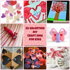 21 DIY Valentine's Day craft Ideas for kids
