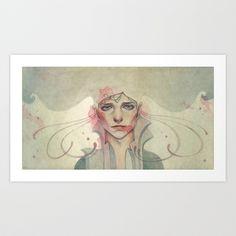 How fragile the bonds Art Print by Kaspian Shore - $18.00