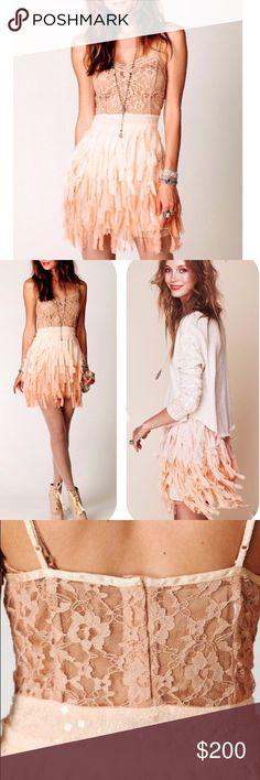 Spotted while shopping on Poshmark: 💕RARE!💕 Free People Sequin Feather Slip Dress! #poshmark #fashion #shopping #style #Free People #Dresses & Skirts