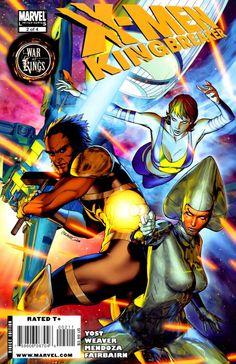 X-Men: Kingbreaker # 2 by Brandon Peterson