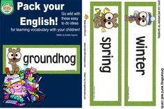 Classroom Freebies: Happy Groundhog day!