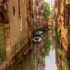 Venice, away from tourists