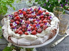 Verdens beste sjokolade Pavlova med bringebær - Franciskas Vakre Verden