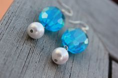 Sea Blue Pearl by SassyPeacocks on Etsy, $11.00