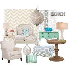 """beach house decor"" on Polyvore"