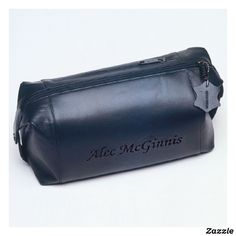 Leather Shaving Dopp Kit - Travel Shaving Kit
