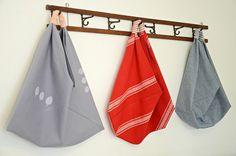 Origami Market Bags | by Lola Nova