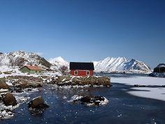4 jours aux #Lofoten enneigées en mars #Hurtigruten #Gravdal et #Ballstad