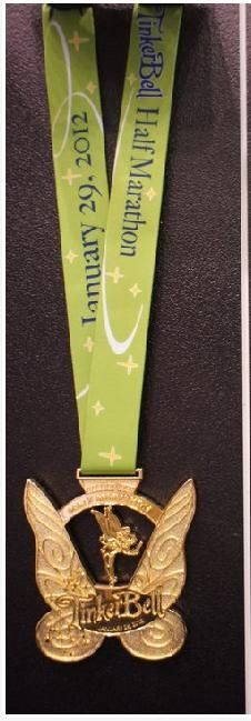 2012 Disney Tinkerbell half marathon medal - Discovered this one while I was looking for Taylor Swift's latest concert. Run Disney, Disney Dream, Disney Running, Half Marathon Training, Marathon Running, Run Like A Girl, Girls Be Like, Sports Medals, Disney Princess Half Marathon