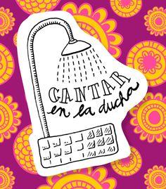 Cantar en la ducha - Disfruta Las Cosas Pequeñas - Gloria Garcia Mata