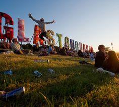 Glastonbury music festival- England