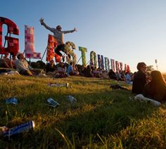 Glastonbury music festival.