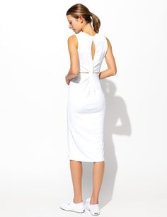 6b4639817f0 Sundry Twisted Knot Dress by Sundry