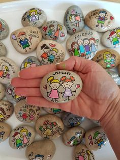 Affirmation Stones, Custom/Personalized Inspirational Message Stones, quotes on pebbles, Painted Rock Art, Painted Stone Acrylic Painting For Kids, Rock Painting Ideas Easy, Rock Painting Designs, Pebble Painting, Pebble Art, Stone Painting, Sharpie Paint Markers, Sharpie Crafts, Paint Pens For Rocks
