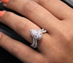 Wait till you see this show stopping ring in person! Come check it out at our locations in Jersey City, NJ! DiamondHut.com
