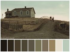 """: """"The Assassination of Jesse James by the Coward Robert Ford"""" Movie Color Palette, Colour Pallete, Color Palettes, Color Schemes, Assassination Of Jesse James, Roger Deakins, Cinema Colours, Color In Film, Colours That Go Together"""