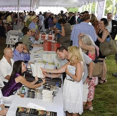 The East Hampton Library presents their 10th annual Authors Night event on Saturday, August 9.  Meet and mingle with 100 authors, buy their books and have them personally inscribed at this lively cocktail party, with all proceeds benefitting the East Hampton Library.