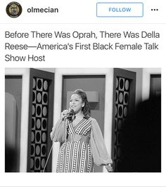 Didn't know she had a talk show. Black History Facts, Black History Month, Black Girls Rock, Black Girl Magic, Black Pride, My Black Is Beautiful, Before Us, African American History, Black Power