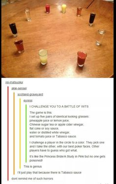 I want to do this sometime for a party.