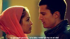 I want a man like him!!!!! Morey y Fatima - El Principe. alex gonzalez, hiba abouk, javier morey, agente morey, fatima ben barek, pareja, couple, para siempre, forever, amor, love, guapos, beautiful,