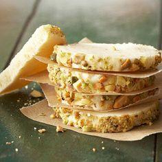 Pistachio-Cream Cheese Sugar Cookies