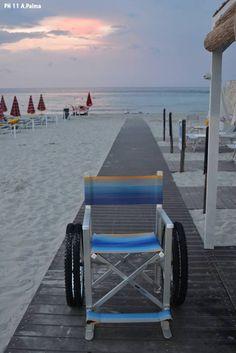 In Salento la prima spiaggia attrezzata per malati di Sla - Corriere.it