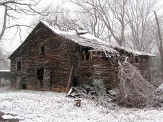 barn wood snow - Google Search
