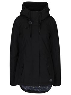Geacă neagră Ragwear Monade Hooded Jacket, Athletic, Jackets, Fashion, Jacket With Hoodie, Down Jackets, Moda, Athlete, Fashion Styles
