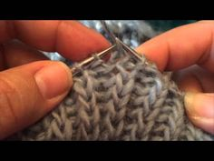 How to Knit Fisherman's Rib in the Round