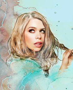 Beautiful fan art - Rose Tyler  (by kingdom come)