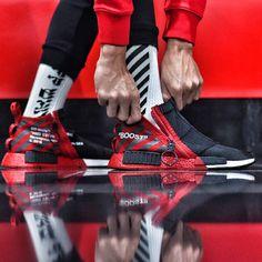 adidas NMD OFF-WHITE Custom: Best Sneakers on Instagram This Week