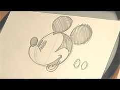 How to Draw Mickey Mouse.  I want to be a Disney animation artist so bad.  It's my dream job ;)