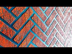 CathiSpaldi Brick wall painting ideas cool and easy method Painting Textured Walls, 3d Wall Painting, Mural Wall Art, Texture Painting, Wall Texture Design, Wall Design, Sofa Design, Interior Design, Brick Design