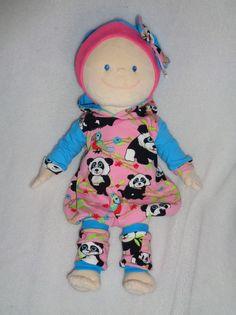 3+tlg+Set+Ballontunika+++Stulpen+Puppen+Gr.+43++von+Elmisemas-Zaubernadel+auf+DaWanda.com