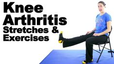 These knee arthritis stretches and exercises are simple to do and should provide some relief from knee arthritis pain. They are also great for keeping your knees nice and fit. Read Doctor Jo's full blog post about this at http://www.askdoctorjo.com/content/knee-arthritis-stretches-exercises #arthritisremediesknee #arthritisremediesknees #arthritisexercises #arthritisexercisesknee #arthritispainrelief
