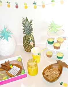 Pineapple party! Perfect for the summer time.