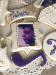 #prince. #prince cookies. #purple cookies. #purple rain Purple Cookies, Purple Rain, Blondes, Prince, Sugar, Baking, Desserts, Food, Tailgate Desserts