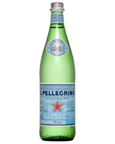 San Pellegrino Sparkling Natural Mineral Water 750mls