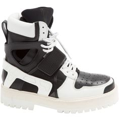Pre-owned - Leather high trainers Dior qmMdXS