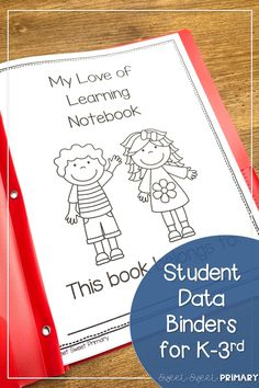 Help your students take ownership of their learning with a reading and math data binder. Your students can make goals and track their progress in fluency, reading levels, writing skills, and math standards. Fun Reading Games, Fun Math Games, Social Studies Resources, Reading Resources, Mindful Classroom, Student Data Binders, Data Notebooks, Read Aloud Books, Writing Skills