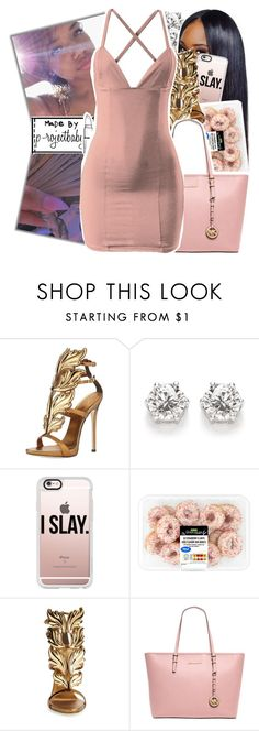 """« if you wanna spend some time, you know when the club is over »"" by p-rojectbaby ❤ liked on Polyvore featuring Giuseppe Zanotti, Casetify and MICHAEL Michael Kors"