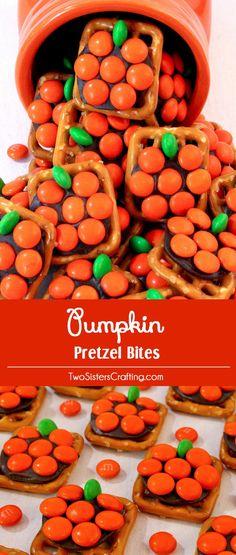 Pumpkin Pretzel treats
