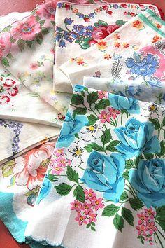 Vintage Handkerchief...By: junqueart