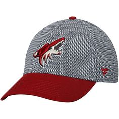 the latest 71c39 61ca3 Men s Arizona Coyotes Fanatics Branded Gray Garnet Breakaway Flex Hat, Your  Price   26.99