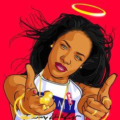 ANGEL AALIYAH by itsmcflyy on DeviantArt