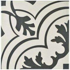 Twenties Vintage 7-3/4 in. x 7-3/4 in. Ceramic Floor and Wall Tile